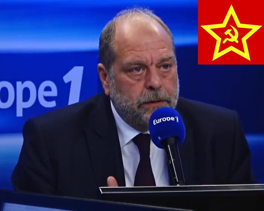Championnat du monde de l'indécence politique, Dupond-Moretti bien placé !  – Bruno Hirout